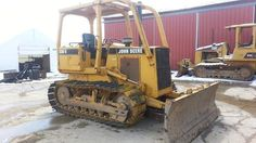 1988 John Deere 550G Crawler Track Loader-shipping available-financing-video inspections