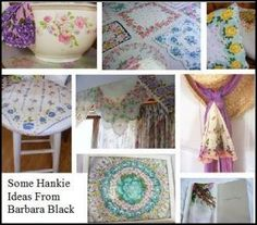 handkerchief crafts ideas 1000 images about hankie crafts on vintage 2144