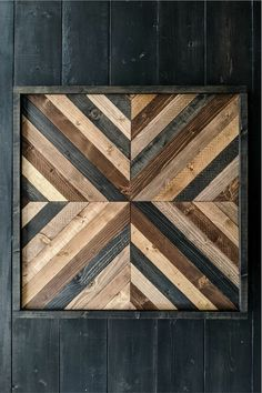 Easy DIY Pottery Barn Inspired Art Idea - Months before Christmas, my mother-in-law sent us a picture of a hanging wood art from Pottery Barn - Diy Wood Wall, Wooden Wall Art, Diy Wall Art, Wood Walls, Wall Decor, Diy Artwork, Scrap Wood Art, Christmas Gnome, Christmas Gifts