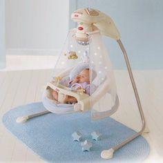 Fisher-Price Starlight Cradle Baby Swing - K7924