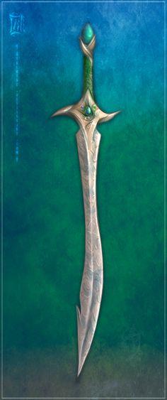 Nelri Blade Concept - I by *Aikurisu on deviantART