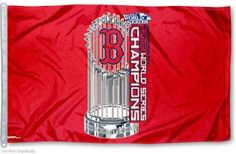 Boston Red Sox World Series 3x5 Flag
