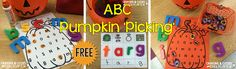 Crayons & Cuties In Kindergarten: Pumpkin 'Picking' For ABC's!