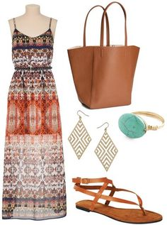 Dress – Maurice's, Shoes – Delia's, Bag – H&M, Ring – Modcloth, Earrings – Dorothy Perkins