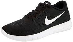 Nike Mens Free Rn Running Shoe Black/Anthracite/White