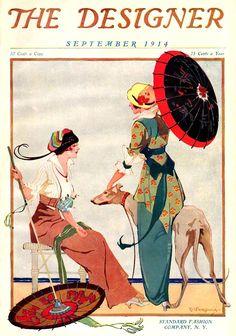 The Designer Magazine, September 1914. Illustration by  C. W. Fairchild...