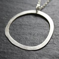 Sale – Organic Circle Necklace | SES Design Jewelry