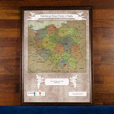 Lubisz podróżować po Polsce? To idealna mapa do oznaczania odwiedzonych juz przez Ciebie miejsc, Twoich wymarzonych lokalizacji i planów na kolejne wypra... Więcej na naszej stronie https://mygiftdna.pl/.