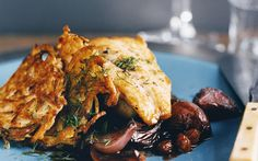 Striped Bass in Agrodolce Sauce