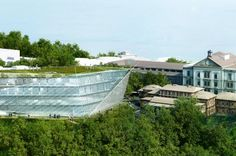 Behnisch Architekten Wins Competition for New Green-Roofed Agora Cancer Research Centre in Switzerland | Inhabitat - Sustainable Design Innovation, Eco Architecture, Green Building