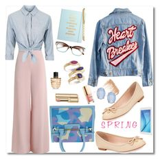 """""""#Spring11 #LightColors"""" by paulette833 ❤ liked on Polyvore featuring High Heels Suicide, Zimmermann, Topshop, Viktor & Rolf, Kate Spade, Dolce&Gabbana, By Terry, Cara, Marni and Anna Beck"""