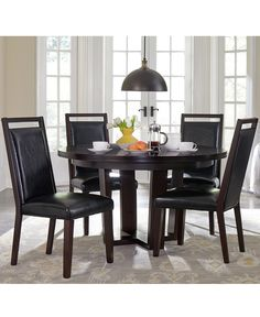 Belaire Black Dining Room Furniture Collection  Dining Room Gorgeous Macys Dining Room Chairs Inspiration Design