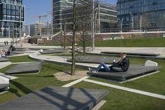 Duccio Malagamba Fotografia de Arquitectura. Espacios Públicos en Hafencity - EMBT Arquitectes>