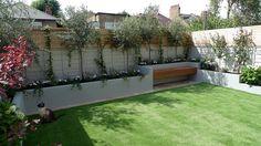 Small Garden Design Contact anewgarden for more information