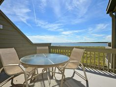 Exclusive Pelican Watch Villa, Seabrook Island. Beautiful ocean views and sounds of waves await you in this second floor oceanfront one bedroom villa. The o...