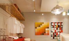Os ambientes com canos aparentes nas mostras de decoração - Jornal O Globo