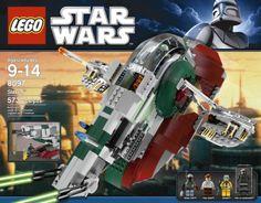 Amazon.com : LEGO Star Wars Slave 1 (8097) : Toy Interlocking Building Sets : Toys & Games