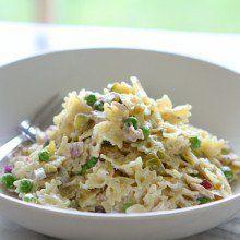 Tuna Pasta Salad with Dill
