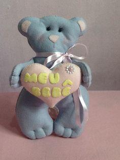 Urso feltro menina