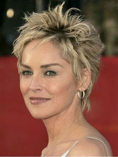 Image result for short spikey hairstyles for women over 50