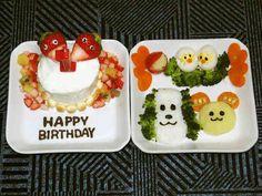 1歳誕生日☆初めてのケーキの画像