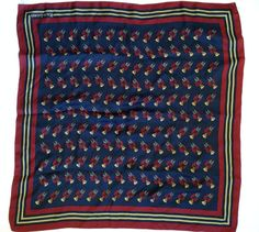 15 Best vintage Polo Silk Scarves images  38357ee1f9faa