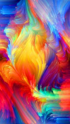 ~ It's a Colorful Life ~ Abstract Iphone Wallpaper, Rainbow Wallpaper, Apple Wallpaper, Colorful Wallpaper, Galaxy Wallpaper, Wallpaper Backgrounds, Homescreen Wallpaper, Cellphone Wallpaper, Art Fractal