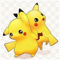 Pikachu helping one another! :-)