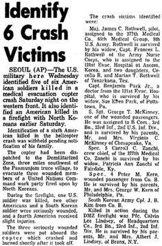 1969 - 16 MAR - Medevac Crash