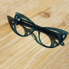 8c331762ee High quality designer cat eye frames from Vint   York. One year warranty  included.