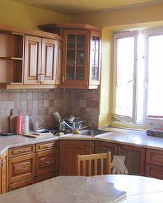 Komoda Pomysłów: Jak pomalować meble kuchenne? Sweet Home, Kitchen Cabinets, Relax, Diy, Home Decor, Decoration Home, House Beautiful, Bricolage, Room Decor
