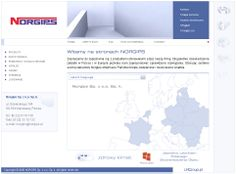 Strona firmowa Norgips Polska
