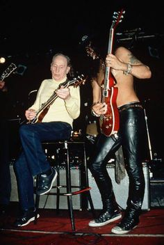 Slash and Les Paul...