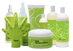 Deva curly hair care line.   Set it free is AMAZING for curly hair and it smells great too!