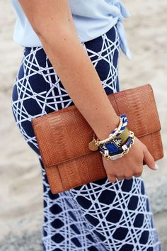 We love bold patterns this summer.