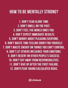 Being Mentally Strong Is Not About Armoring Yourself, But Building Your Internal Strength