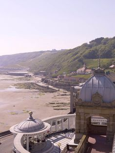 Low tide, South Bay, Scarborough, Yorkshire, England