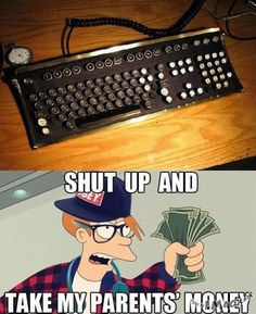LMAO!!! Hipster keyboard | #keyboard, #hipster, #cool, #funny