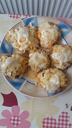 Pork Recipes, Cooking Recipes, Meatloaf, Potato Salad, Food And Drink, Yummy Food, Lunch, Bread, Breakfast