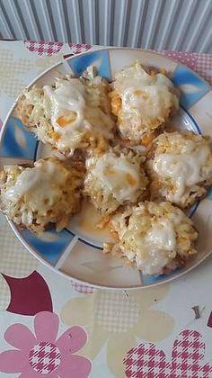 "Lusta"" háziasszonyok kitűnő ebédje Pork Recipes, Cooking Recipes, Meatloaf, Potato Salad, Food And Drink, Yummy Food, Lunch, Bread, Breakfast"