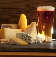 A wide variety of beer and cheese pairings as well as food choices. Gouda goes with such a huge selection of beer!