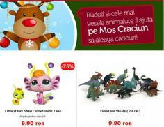 Ideea lui Ruldolf! Preturile mici, de la 9.9 RON in magazin Noriel! - http://www.outlet-copii.com/outlet-copii/jucarii-copii/ideea-lui-ruldolf-preturile-mici-de-la-9-9-ron-in-mgazin-noriel/ - Rudolf si cele mai vesele animalute il ajuta pe Mos Craciun sa aleaga cadouri! Iata cateva recomandari:          * 18 Decembrie (ora 23:59) este ultima zi pentru a plasa comenzi ce vor fi livrate pana in Ajunul Craciunului. Click aici sa comanzi acum pentru sacul mosului !