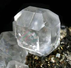 Clear White Fluorite Properties and Meaning + Photos