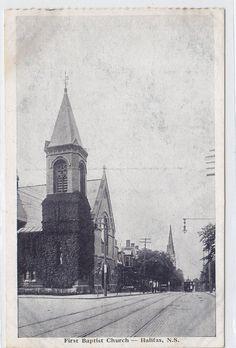 First Baptist Church Halifax Nova Scotia Canada Novelty MFG ART CO Postcard | eBay
