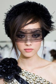 Tis amazing what a little bit of lace can do for the look.