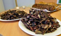 traditional greenlandic dried meat