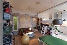 HB6B par Karin Matz Arkitekt - Journal du Design Stockolm agencement petit espace