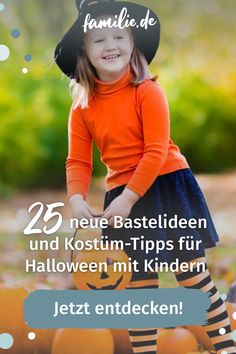Am 31.10. steht das Gruselfest – und womöglich ein paar kleine verkleidete Gespenster, die Süßes oder Saures fordern – vor eurer Tür! Also raus mit den Treats & der Gruseldeko, die ihr ganz einfach selber basteln könnt. Hier geht's zu den schaurig-schönsten Ideen für Halloween mit Kindern. #halloween #grußel #süßesodersaures #horror #happyhalloween #costume #trickortreat #fashion #halloween2020 #love #pumpkin #art #spooky #instagood #party #scary #october #creepy #beauty #cute…