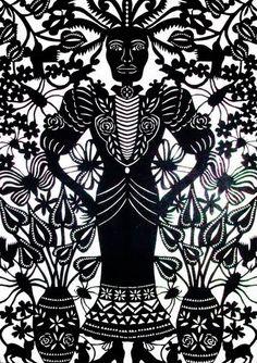Art Found Out: Margarita Fick – cutting paper
