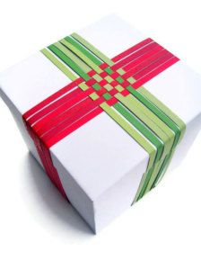 Cool wrapping idea!